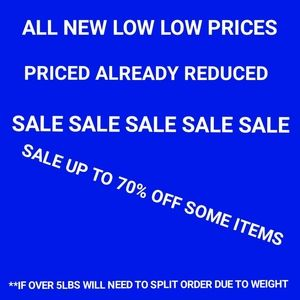 ALL PRICES FIRM!!